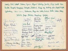 1960-1961 8.a aláírások