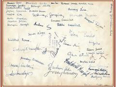 1960-1961 8.b aláírások