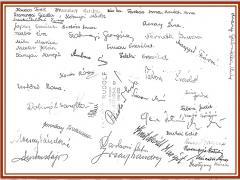 1961-1962 8. aláírások