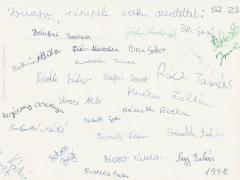 1997-1998. 8.a aláírások