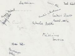 1998-1999. 8.b aláírások